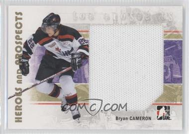 2007-08 In the Game Heroes and Prospects #131 - Bryan Cameron
