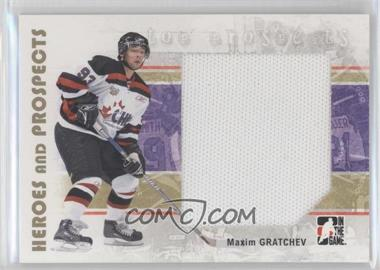 2007-08 In the Game Heroes and Prospects #138 - Maxim Gratchev