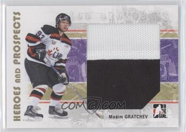 2007-08 In the Game Heroes and Prospects #138 - [Missing]
