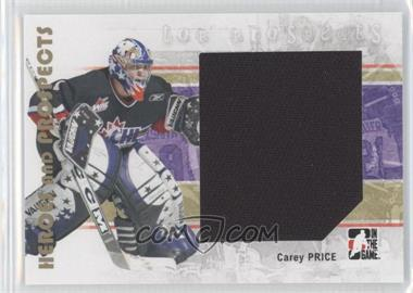 2007-08 In the Game Heroes and Prospects #139 - Carey Price