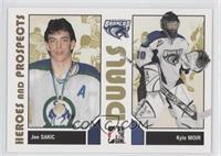 Joe Sakic, Kyle Moir