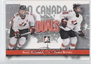 2007-08 In the Game O Canada - [Base] #83 - Jennifer Botterill, Hayley Wickenheiser