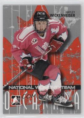 2007-08 In the Game O Canada #32 - Hayley Wickenheiser