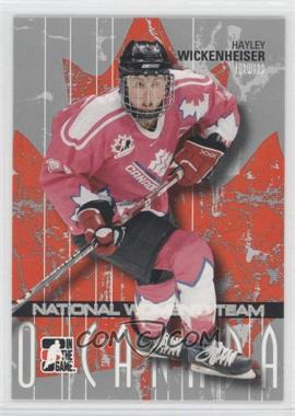2007-08 In the Game O Canada #32 - Hayley Wickenheiser