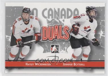 2007-08 In the Game O Canada #83 - Jesse Boulerice, Jennifer Botterill, Hayley Wickenheiser