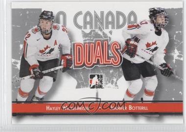 2007-08 In the Game O Canada #83 - Jesse Boulerice, Jennifer Botterill