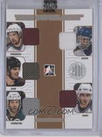 Peter Forsberg, Jaromir Jagr, Joe Thornton, Dominik Hasek, Joe Sakic /9