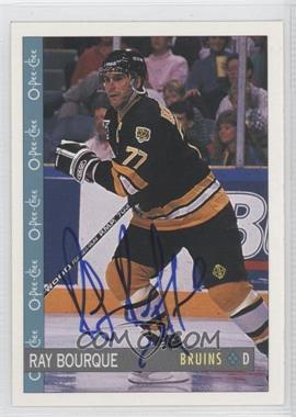 2007-08 O-Pee-Chee Autographed Buybacks [Autographed] #56.1 - Ray Bourque