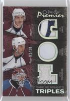 Joe Sakic, Jose Theodore, Ryan Smyth /10