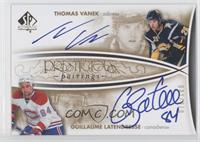Thomas Vanek, Guillaume Latendresse /100