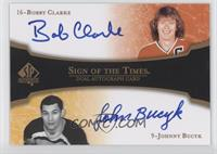 Bobby Clarke, Johnny Bucyk