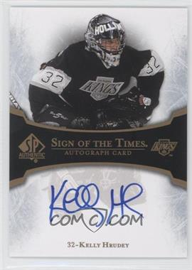 2007-08 SP Authentic Sign of the Times #ST-KH - Kelly Hrudey