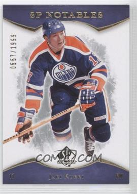 2007-08 SP Authentic #137 - Jari Kurri /1999