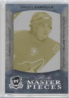 2007-08 SP Game Used Edition 2007-08 Upper Deck The Cup Printing Plate Yellow #Y-115 - Daniel Carcillo /1
