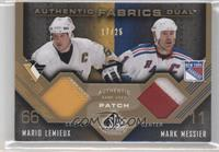 Mario Lemieux, Mark Messier /25