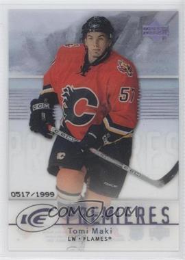 2007-08 Upper Deck Ice - [Base] #101 - Tomi Maki /1999