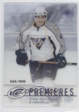 2007-08 Upper Deck Ice - [Base] #177 - Ville Koistinen /999
