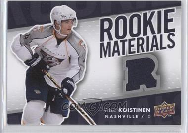 2007-08 Upper Deck Rookie Materials #RM-VK - Ville Koistinen