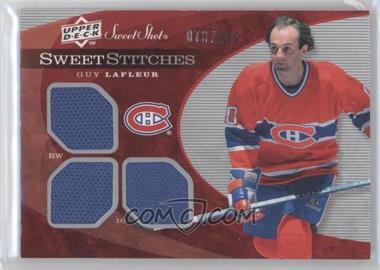 2007-08 Upper Deck Sweet Shot - Sweet Stitches #SST-GL - Guy Lafleur /299