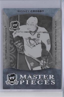 2007-08 Upper Deck The Cup - [Base] - Printing Plate Black #K-21 - Sidney Crosby /1