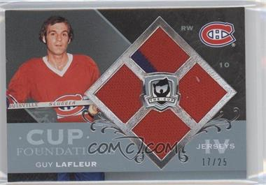 2007-08 Upper Deck The Cup Cup Foundations Jerseys #CF-GL - Guy Lafleur /25