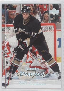 2007-08 Upper Deck UD Exclusives #74 - Dustin Penner /100