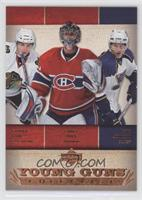 Young Guns Checklist (Patrick Kane, Carey Price, Erik Johnson)