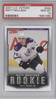 2007-08 Victory - [Base] #324 - Matt Moulson [PSA 10]