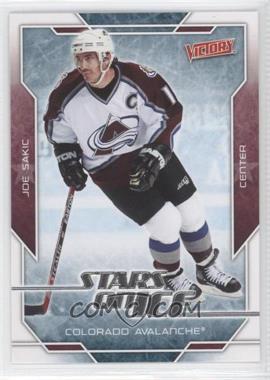 2007-08 Victory Stars on Ice #SI19 - Joe Sakic