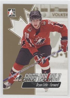 2007 In the Game Going for Gold World Junior Championships - [Base] #17 - Brett Lindros