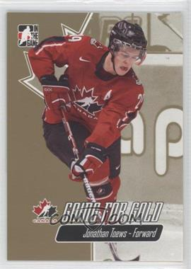 2007 In the Game Going for Gold World Junior Championships [???] #21 - Jonathan Toews