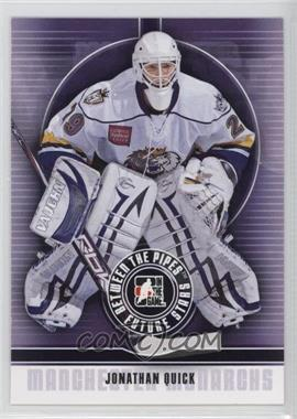 2008-09 In the Game Between the Pipes - [Base] #24 - Jonathan Quick
