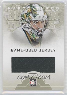 2008-09 In the Game Between the Pipes - Game-Used Jersey #GUJ-40 - Marty Turco /90