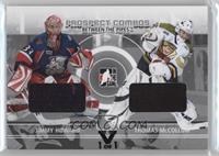 Jimmy Howard, Thomas McCollum /1