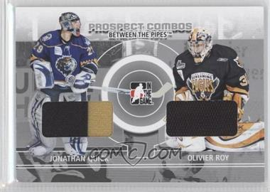 2008-09 In the Game Between the Pipes - Prospect Combos #PC-09 - Johnathan Quick