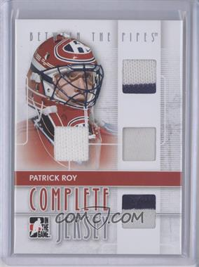 2008-09 In the Game Between the Pipes [???] #CJ-02 - Patrick Roy