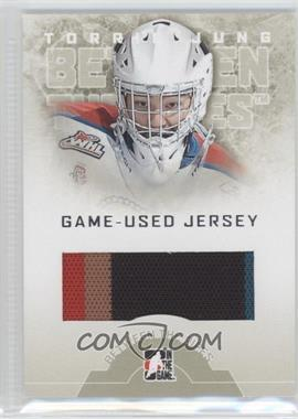 2008-09 In the Game Between the Pipes Game-Used Jersey #GUJ-16 - Torrie Jung