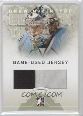2008-09 In the Game Between the Pipes Game-Used Jersey #GUJ-23 - Drew MacIntyre