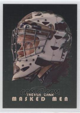 2008-09 In the Game Between the Pipes Masked Men Gold #MM-43 - Trevor Cann