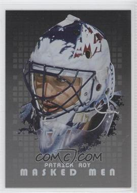 2008-09 In the Game Between the Pipes Masked Men Silver #MM-22 - Patrick Roy