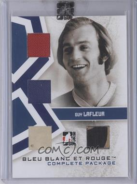 2008-09 In the Game Bleu Blanc et Rouge - Complete Package - Bleu #CP-05 - Guy Lafleur /9