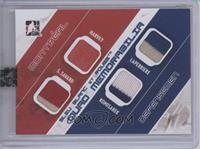 Doug Harvey, Serge Savard, Jacques Laperriere, Mike Komisarek /9