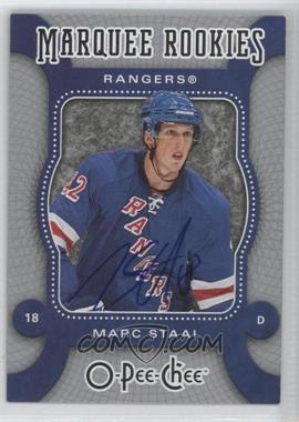 2008-09 O-Pee-Chee Autographed Buybacks [Autographed] #572 - Marc Staal