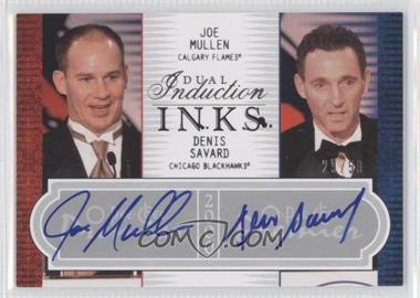 2008-09 O-Pee-Chee Premier - Dual Induction Inks #2PI-MS - Joe Murphy, Denis Savard /50