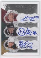 Kyle Turris, Fabian Brunnstrom, Blake Wheeler /35