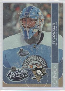 2008-09 O-Pee-Chee Winter Classic #WC6 - Ty Conklin