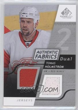 2008-09 SP Game Used Edition - Authentic Fabrics Dual #AF-HO - Tomas Holmstrom