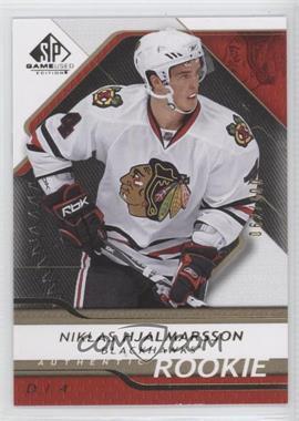2008-09 SP Game Used Edition - [Base] - Gold #147 - Niklas Hjalmarsson /100