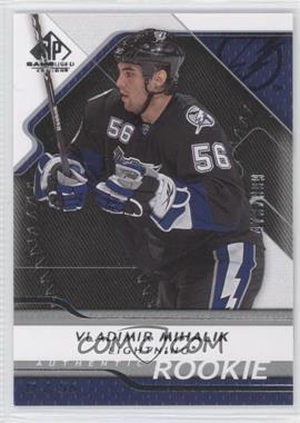 2008-09 SP Game Used Edition - [Base] #170 - Vladimir Mihalik /999
