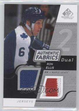 2008-09 SP Game Used Edition Authentic Fabrics Dual #AF-RE - Ron Ellis